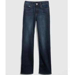 Gap Women's Mid Rise Real Straight Jeans